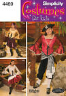 Sew & Make Simplicity 4469 4912 SEWING PATTERN - Girls PIRATE WENCH COSTUMES
