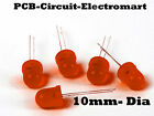 LED 12 Volt Flashing Yellow Red Green PCB component Light Emitting Diode