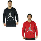 Jordan Air Nike Crewneck Fleece Sweatshirt Jumpman