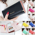 Fashion Lady Women Purse Long Wallet Bags PU Handbags Card Holder Lovely Gift
