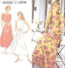 Sew & Make Simplicity 8222 Vintage SEWING PATTERN - Womens Retro MIDI DRESSES