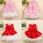 Girl Kid Dress Princess Pageant Wedding Bridesmaid Party Communion 2-6Y Clothing