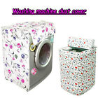 NEW Creative Elegant Floral Waterproof Washing Machine Dust Cover 7678
