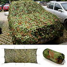 New Woodland Stealth Camouflage Camo Net Shooting Hunting Hide Army 7M 4M 3M