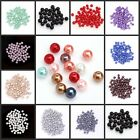 Charm Wholesale Round glass pearl spacer beads For Jewelry Making 4 6 8 10 mm