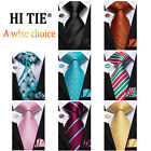 USA Classic 30 Colors Paisley Pink Blue Purple Mens Tie Necktie Silk Wedding Set