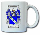 HOLLINGSWORTH COAT OF ARMS COFFEE MUG