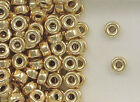 14K Gold Filled Beads, 6mm Plain Flat Design, New