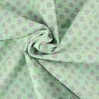 LITTLE STARS JERSEY - GREY STARS on IVORY PINK BLUE or GREEN cotton with spandex