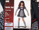 Gothic Doll Child Costume Hat L XL NIP