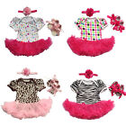 Toddler Baby Infant Clothes Dress Girls Clothing Cake Tutu Cute Newborn Romper