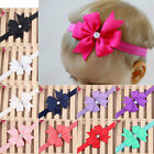 Newborn Baby Girls Flower Headband Elastic Band Headband Hair Accessories New