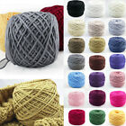 New 200g Smooth Cotton Natural Double Knitting Wool Yarn Dk Ball Baby Woolcraft