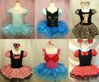 Girls  Ballet Tutus Dancewear Dress 2-8Y Kids Cosplay Clothing