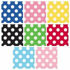 Polka Dot 16 Beverage NAPKINS {25cm x 25cm} Spots Spotty Birthday Party