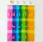 New  PVC Bathroom Wall Hanging Storage Pouch Organizer for Cosmetic Toiletries
