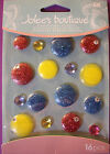 NEW DOTS CABOCHONS * Your Choice Color * JOLEE'S BOUTIQUE Dimensional Stickers