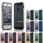 Ultra Thin Slim Silicone Frame Bumper Case Cover For Apple Iphone 4 4s 5 5s