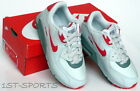 NIKE AIR MAX 90 JUNIORS TRAINERS, SHOES GREY RED UK 12.5 to 1.5 NEW IN BOX