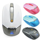 Tide 1PC E-3lue LED Silent 2.4GHz Wireless Mouse Optical Gaming Mice For PC
