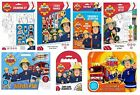 FIREMAN SAM 2015 Design Colouring, Activity & Sticker Packs/Kits (Kids/Activity)