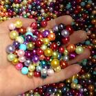 10mm & 12mm Glass Pearl Beads - Mixed Colours - Choose Pack Size
