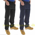 Action Cargo Work Trousers Workwear Multi Pocket Combat Tough Professional Pants