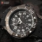 SHARK ARMY Military Mens Sport Quartz 4 Colors Dial Rubber Band Wrist Watch Gift