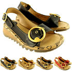Womens Fly London Tram Low Wedge Summer Vacation Buckle Open Toe Sandals US 5-10