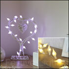 20 LED BATTERY OPERATED PEARL SILVER WIRE STRING FAIRY PARTY XMAS WEDDING LIGHT