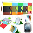 For iPad 4 3 2 Mini 1 2 3 Smart Cover Magnetic Leather Case Sleep Wake Stand New