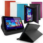 "PU LEATHER STAND CASE WALLET FOR PENDO-PAD 7"" 10"" 10.1"" TABLET"