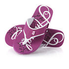 Animal Swish Logo  Womens  Flip Flops - Berry