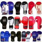 Rex Leather Boxing Gloves Punch Bag Training Gloves Adults / Youth 10 OZ