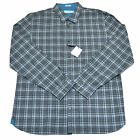 Calvin Klein Mens Dress Shirt Buttondown Plaid Long Sleeve Cotton New Ck Nwt L