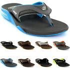 Mens Reef Fanning Toe Post Flip Flop Surfing Beach Slip On Sandals UK 7-12