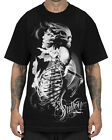 Sullen Clothing Resurrection Mens T Shirt Black Skull Goth Tattoo Tee