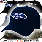 Ford Logo Cap Truck Oval Hat F150 Raptor Shelby GT500 Cobra Racing SVT
