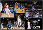 KEVIN DURANT OKLAHOMA CITY THUNDER SIGNED NBA MATTED MONTAGE PHOTOGRAPH