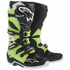 New 2014 Alpinestars Tech 7 Motocross Atv Boots Green
