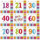 RADIANT Birthday 16 Luncheon NAPKINS (Party/Celebration/Decoration)