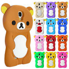 Cute Cartoon Bear Silicone TPU Gel Soft Cover Case For Samsung Galaxy S4 i9500