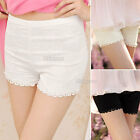 Womens Ladies Crochet Lace Safety Shorts Hot Pants Underwear Tights