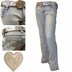 Womens Jeans Trousers Denim Ladies Casual Miss Posh CH-6480P New