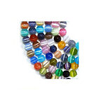 CATS EYE BEADS FIBER OPTIC MULTI COLOR STRAND MIX
