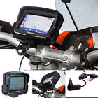 """Motorcycle M6 M8 M10 Clamp Mount + Din Hella Charger for TomTom Rider v5 4.3"""""""
