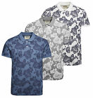 Jack And Jones Car Print Polo shirt in Grey White & Blue  RRP £17.99 *BWNT*