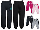 Boys Girls Joggers Jogging Pants Fleece Tracksuit Bottoms PE School Kids Sizes