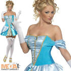 Princess Cinderella Fancy Dress Fairytale Ladies Womens Costume Adults Outfit
