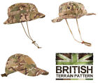 US & British Army Military Jungle Boonie Sun Bush Hat Surplus Combat BTP Camo
